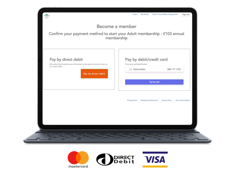 Clubmate online payments