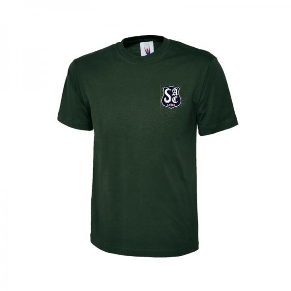 SAC - Bottle Green Tshirt