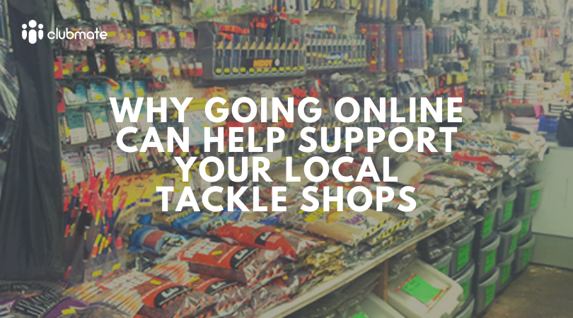 Why going online can complement local tackle shops…