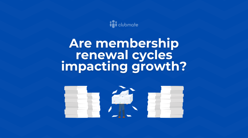 Are membership renewal cycles impacting growth?
