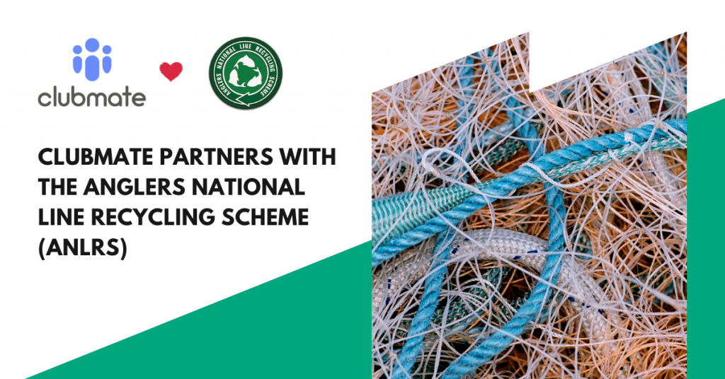 Clubmate Partners with the Anglers National Line Recycling Scheme